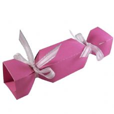 Cerise Cracker Designer Favour Boxes